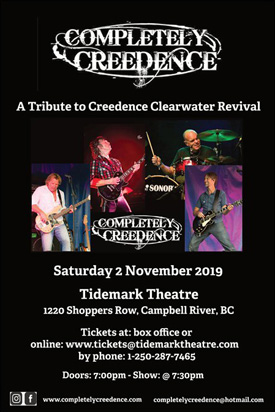 Tidemark Theatre Society | Description - Completely Creedence
